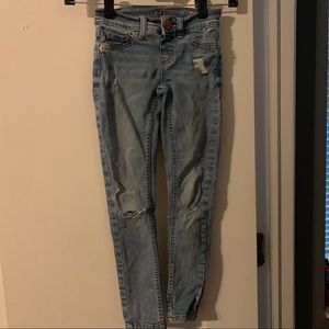 Girls Jeggings (destroyed style)